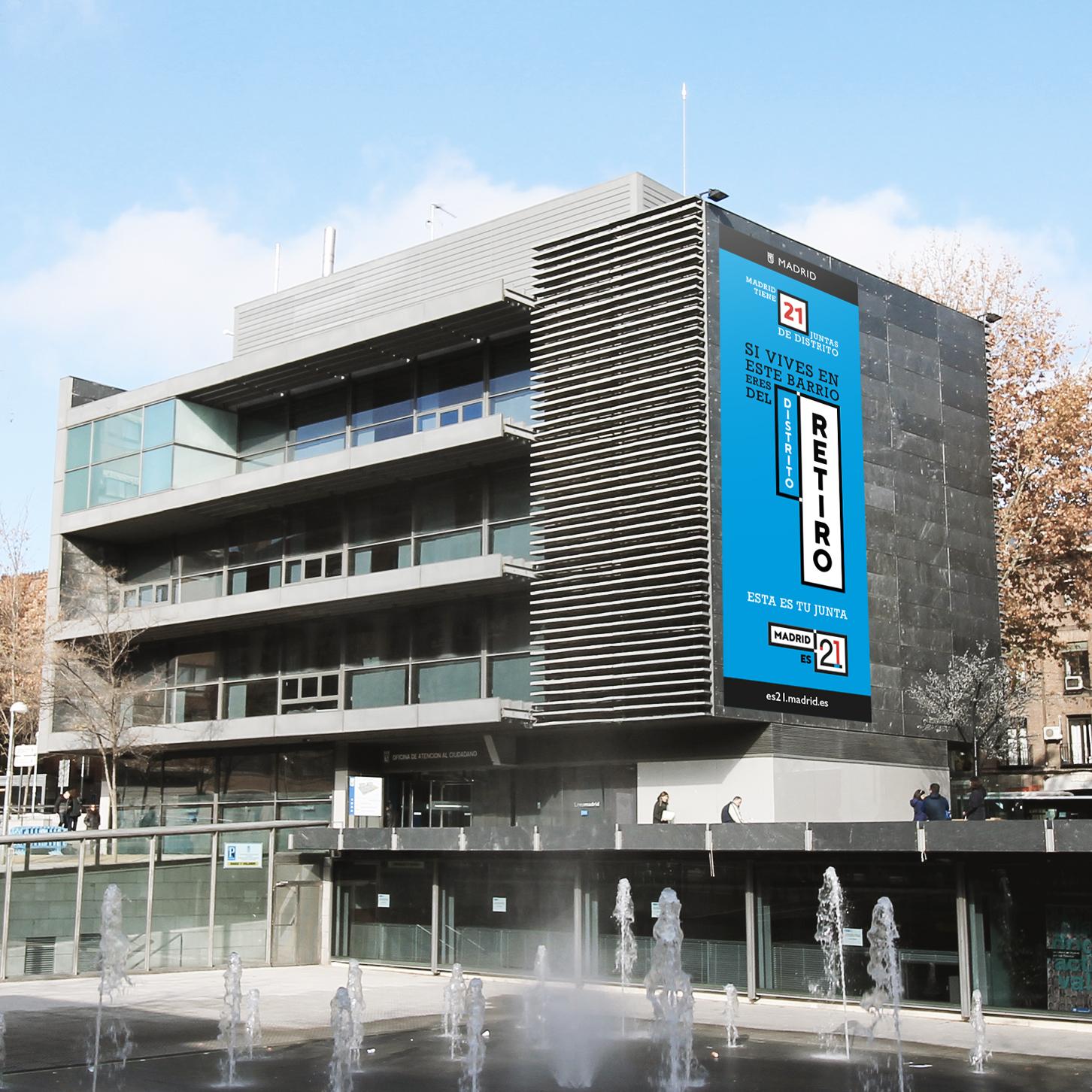 AYUNTAMIENTO DE MADRID<BR>&#8220;MADRID ES 21&#8221;