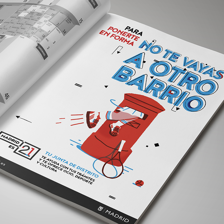 """AYUNTAMIENTO DE MADRID<BR>""""NO TE VAYAS A OTRO BARRIO"""""""