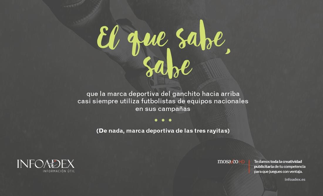 """""""El que sabe, sabe"""", nuestra nueva campaña para Infoadex."""